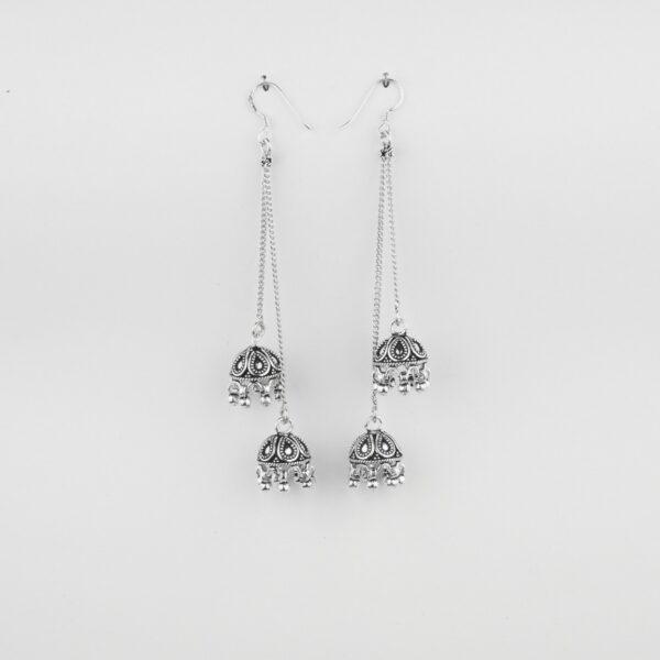 925 Silver Jhumkas