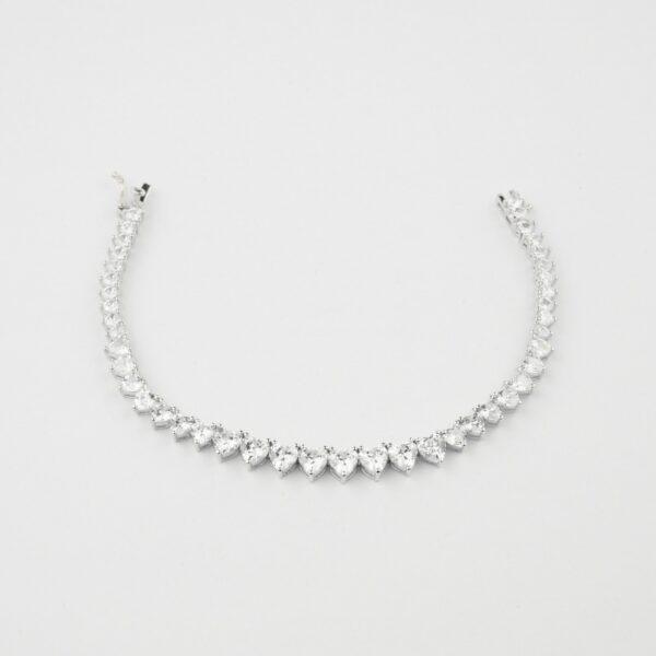 Solitaire cz bracelet