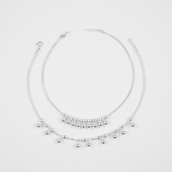 925 Silver anklet