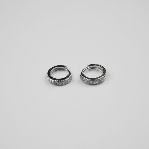 Silver Hoops/Balis