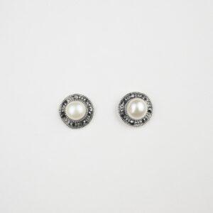 925 pearl studs