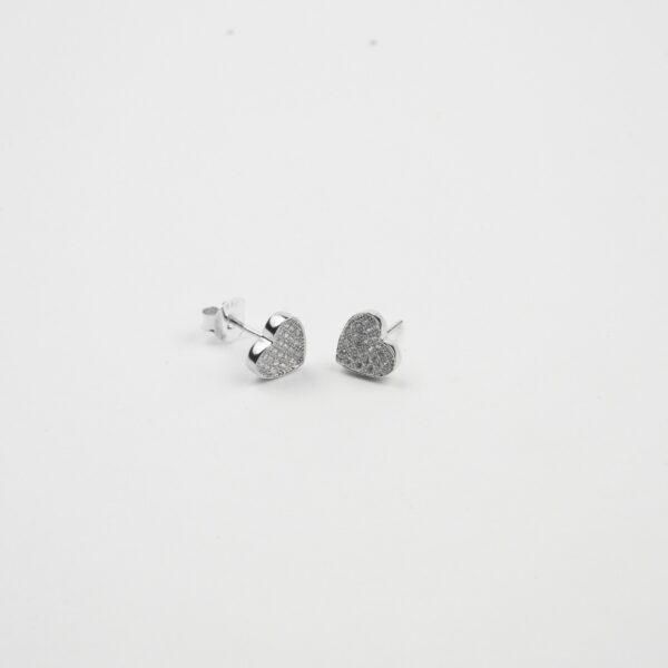 Cz silver studs