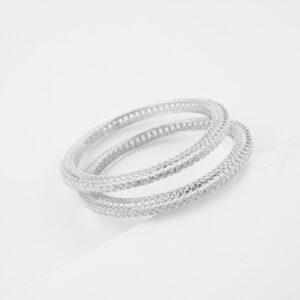 Solitaire Silver Kada