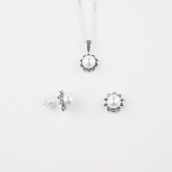 Silver Pendant Set