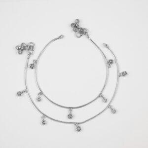 Silver Anklet