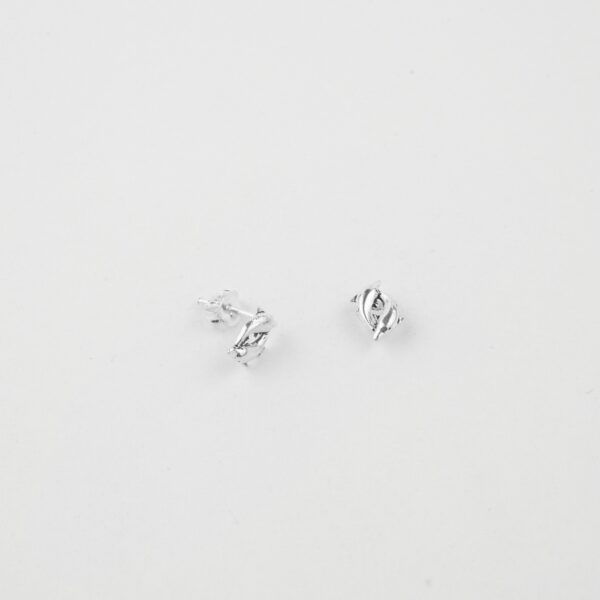 dolphin silver studs