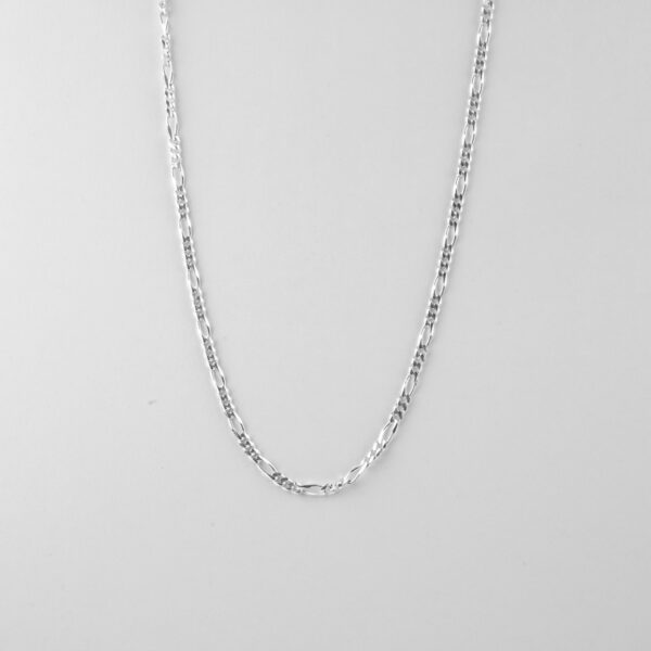 Gents silver necklace